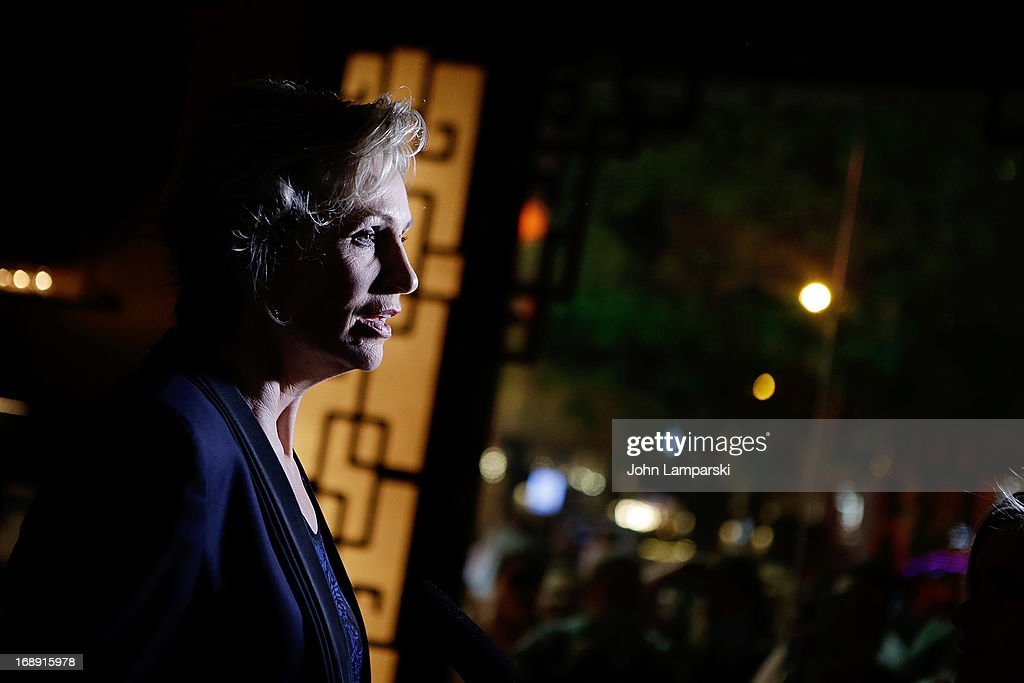 Jane Lynch attends the after party for Jane Lynch's opening night in Broadway's 'Annie' at Ruby Foo's on May 16 2013 in New York City
