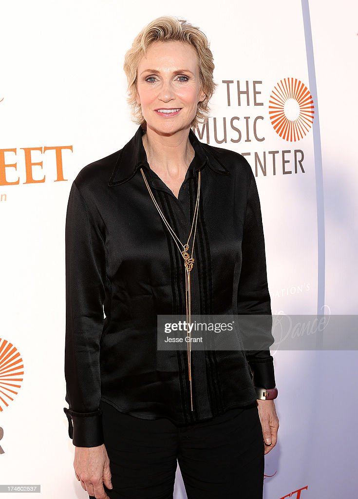 <a gi-track='captionPersonalityLinkClicked' href=/galleries/search?phrase=Jane+Lynch&family=editorial&specificpeople=663918 ng-click='$event.stopPropagation()'>Jane Lynch</a> attends the Dizzy Feet Foundation Third 'Celebration of Dance' Gala at The Music Center on July 27, 2013 in Los Angeles, California.