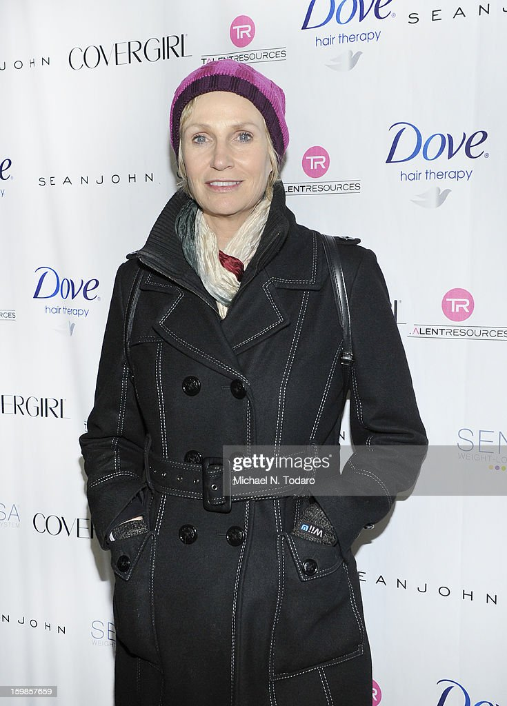 <a gi-track='captionPersonalityLinkClicked' href=/galleries/search?phrase=Jane+Lynch&family=editorial&specificpeople=663918 ng-click='$event.stopPropagation()'>Jane Lynch</a> attends the TR Suites Daytime Lounge - Day 3 on January 20, 2013 in Park City, Utah.