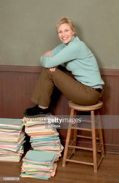 Jane Lynch during 2004 Sundance Film Festival 'Little Black Boot' Portraits at HP Portrait Studio in Park City Utah United States
