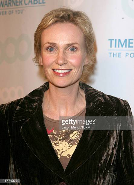 Jane Lynch during Time Warner Cable and MTV Networks Celebrate the Launch of Logo and Logo on Demand at Boulevard3 in Hollywood California United...