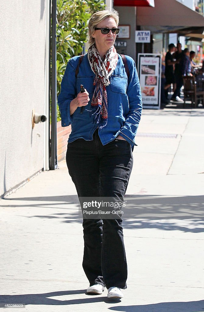 Jane Lynch is seen on April 07 2014 in Los Angeles California