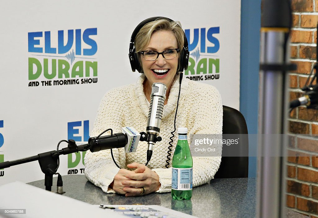 Jane Lynch visits 'The Elvis Duran Z100 Morning Show' at Z100 Studio ...