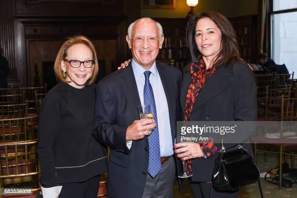 Jane Novick Richard Novick and Linda Schaps attend Audrey Gruss' Hope for Depression Research Foundation Dinner with Author Daphne Merkin at The...