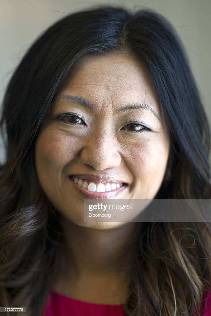 Jane Park, founder and chief executive officer of Julep Beauty Inc., stands for a photograph after a Bloomberg West Television interview in San Francisco, California, U.S., on Monday, July 1, 2013. Julep Beauty Inc. offers retails and offers beauty products. The company offers hand, nail, foot care, cosmetics, perfume and body products. Photographer: David Paul Morris/Bloomberg via Getty Images