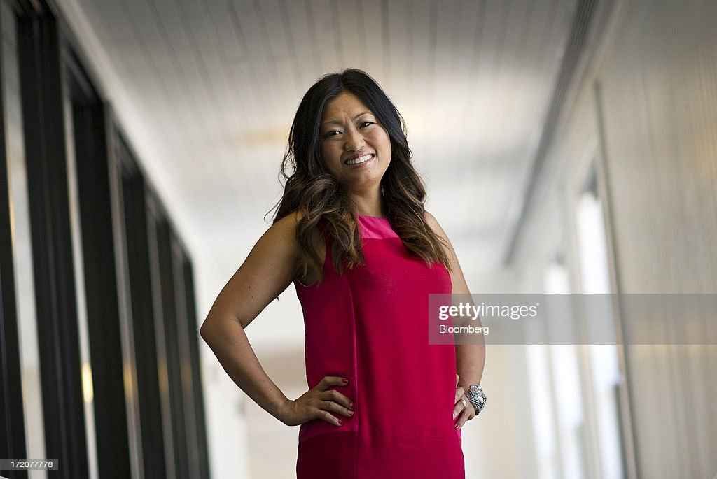 Jane Park, founder and chief executive officer of Julep Beauty Inc., stands for a photograph after a Bloomberg West Television interview in San Francisco, California, U.S., on Monday, July 1, 2013. Julep Beauty Inc. retails and offers beauty products such as hand, nail, foot care, cosmetics, perfume and body products. Photographer: David Paul Morris/Bloomberg via Getty Images