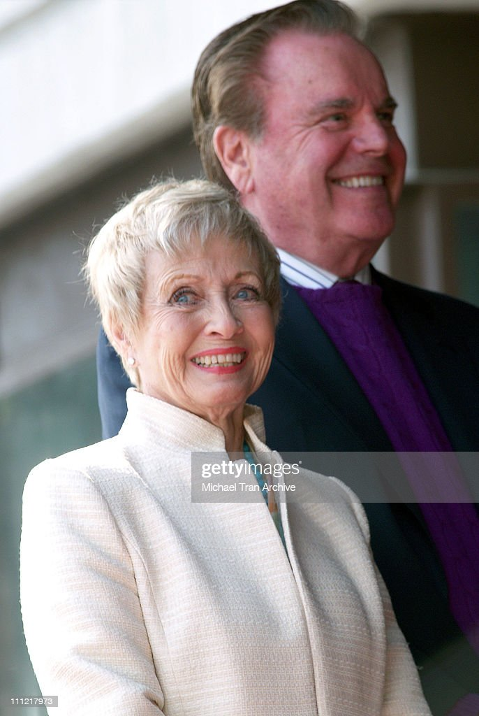Jane Powell and Robert Wagner during Robert Osborne Honored with a Star on the Hollywood Walk of Fame for His Achievements in Television at 1617 Vine...