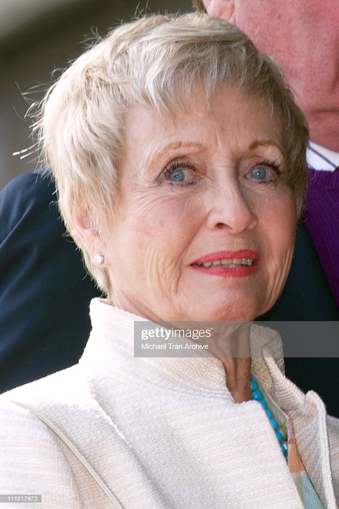 Jane Powell during Robert Osborne Honored with a Star on the Hollywood Walk of Fame for His Achievements in Television at 1617 Vine Street in...