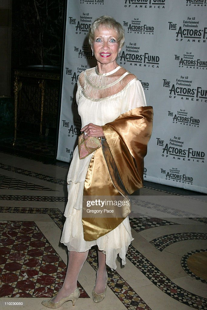 Jane Powell during The Actors Fund 'There's No Business Like Show Business' Gala at Cipriani 42nd Street in New York City New York United States