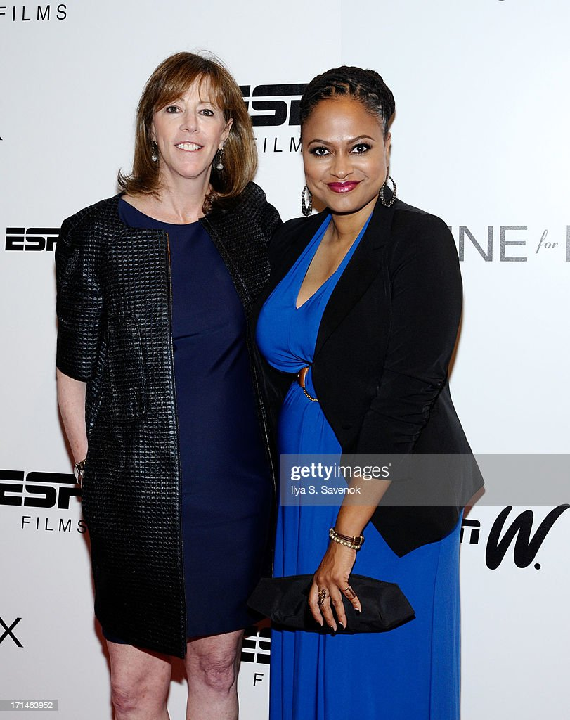 <a gi-track='captionPersonalityLinkClicked' href=/galleries/search?phrase=Jane+Rosenthal&family=editorial&specificpeople=202835 ng-click='$event.stopPropagation()'>Jane Rosenthal</a> (L) and Ava DuVernay attend 'Venus Vs.' and 'Coach' New York Special Screenings at Paley Center For Media on June 24, 2013 in New York City.