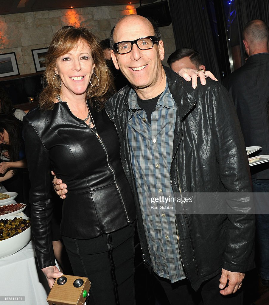Jane Rosenthal and Matt Blank attend the TFF Awards Night during the 2013 Tribeca Film Festival on April 25, 2013 in New York City.