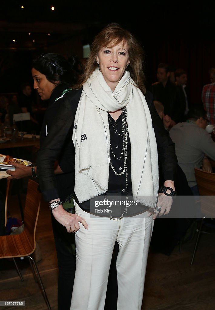 Jane Rosenthal attends the Directors Brunch during the 2013 Tribeca Film Festival on April 23, 2013 in New York City.