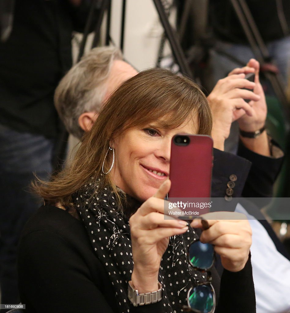 Jane Rosenthal attends the 'We Will Rock You' North America Tour Rehearsals at The New 42nd Street Studios on September 23, 2013 in New York City.