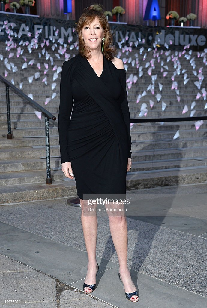 Jane Rosenthal attends Vanity Fair Party for the 2013 Tribeca Film Festival on April 16, 2013 in New York City.