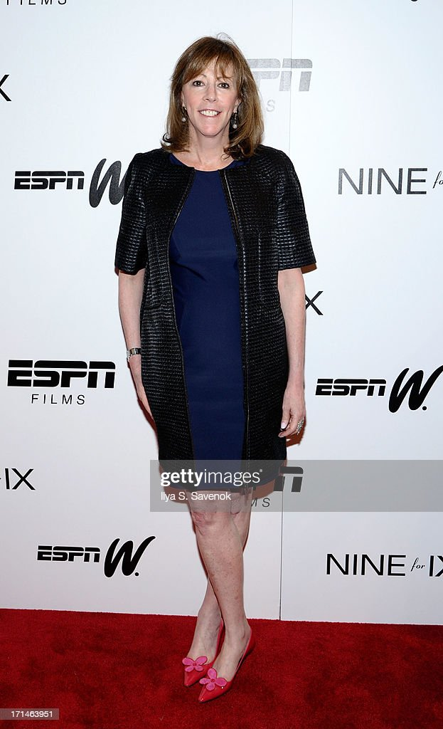 Jane Rosenthal attends 'Venus Vs' and 'Coach' New York Special Screenings at Paley Center For Media on June 24 2013 in New York City