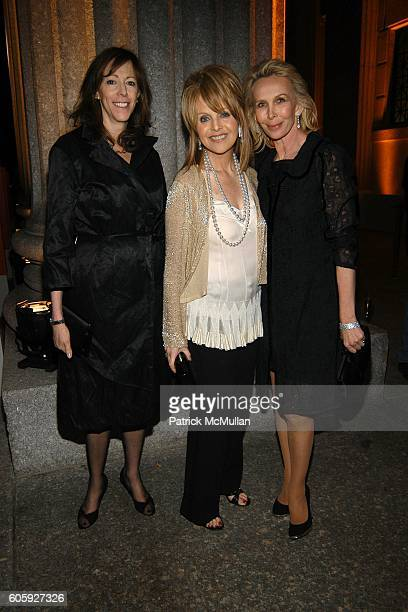 Jane Rosenthal Claudia Cohen and Trudie Styler attend VANITY FAIR Tribeca Film Festival Party hosted by Graydon Carter and Robert DeNiro at The State...