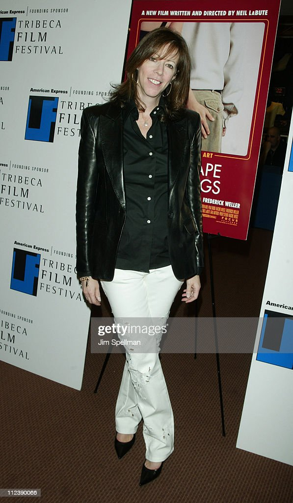 Jane Rosenthal during 2003 Tribeca Film Festival Special Screening Of 'The Shape Of Things' at Pace University in New York New York United States