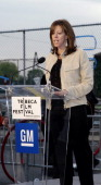 Jane Rosenthal during 3rd Annual Tribeca Film Festival GM DriveIn at GM DriveIn in New York City New York United States