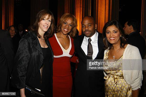 Jane Rosenthal Gayle King Damon Dash and Prudence Solomon Inzerillo attend VANITY FAIR Tribeca Film Festival Party hosted by Graydon Carter and...