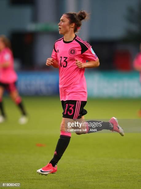 Jane Ross of Scotland Women during the UEFA Women's Euro 2017 match between England and Scotland at Stadion Galgenwaard on July 19 2017 in Utrecht...