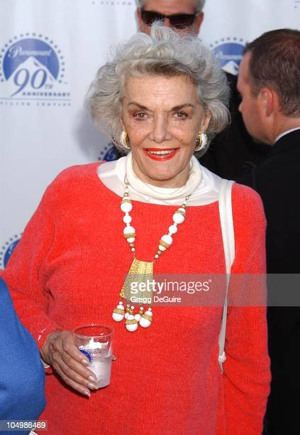 Jane Russell during Paramount Pictures Celebrates 90th Anniversary With 90 Stars for 90 Years at Paramount Pictures in Los Angeles California United...