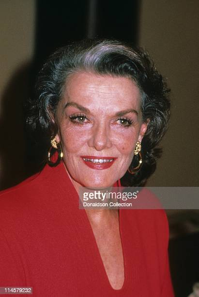 Jane Russell poses for a portrait in August 1987 in Los Angeles California