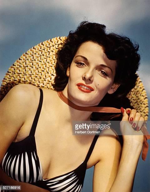 Jane Russell Wearing a Bikini Top