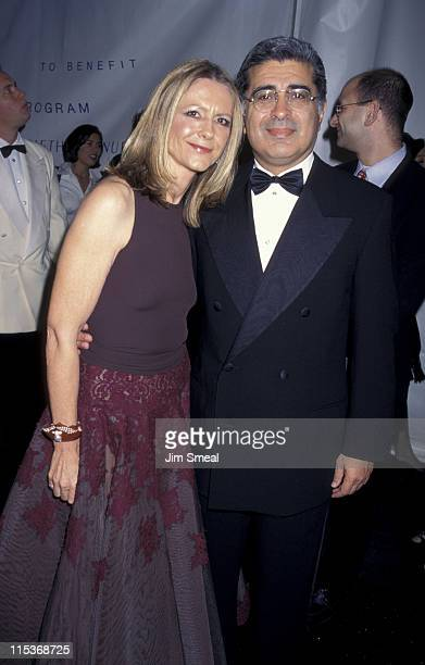 Jane Semel and Terry Semel during 8th Annual Fire and Ice Ball to Benefit Revlon UCLA Women Cancer Center at Paramount Studios in Hollywood...