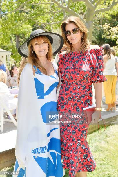 Jane Seymour and Cindy Crawford attend Cindy Crawford and Kaia Gerber host Best Buddies Mother's Day Brunch in Malibu CA sponsored by David Yurman on...