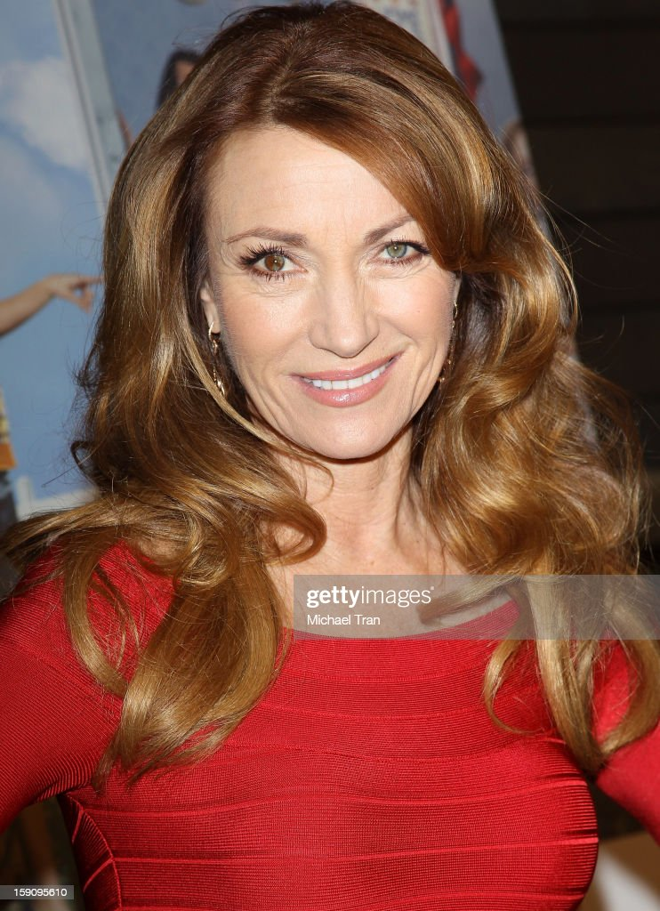 Jane Seymour arrives at the Los Angeles premiere of 'Freeloaders' held at Sundance Cinemas on January 7 2013 in Los Angeles California