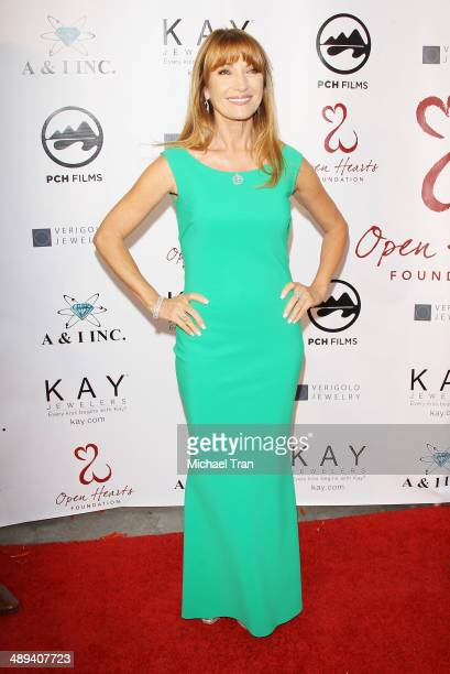 Jane Seymour arrives at the Open Hearts Foundation 4th Annual Gala held on May 10 2014 in Malibu California