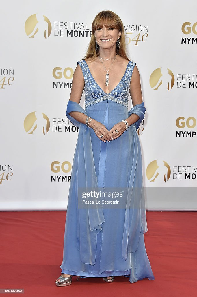Jane Seymour arrives at the opening ceremony of the 54th Monte-Carlo Television Festival on June 7, 2014 in Monte-Carlo, Monaco.