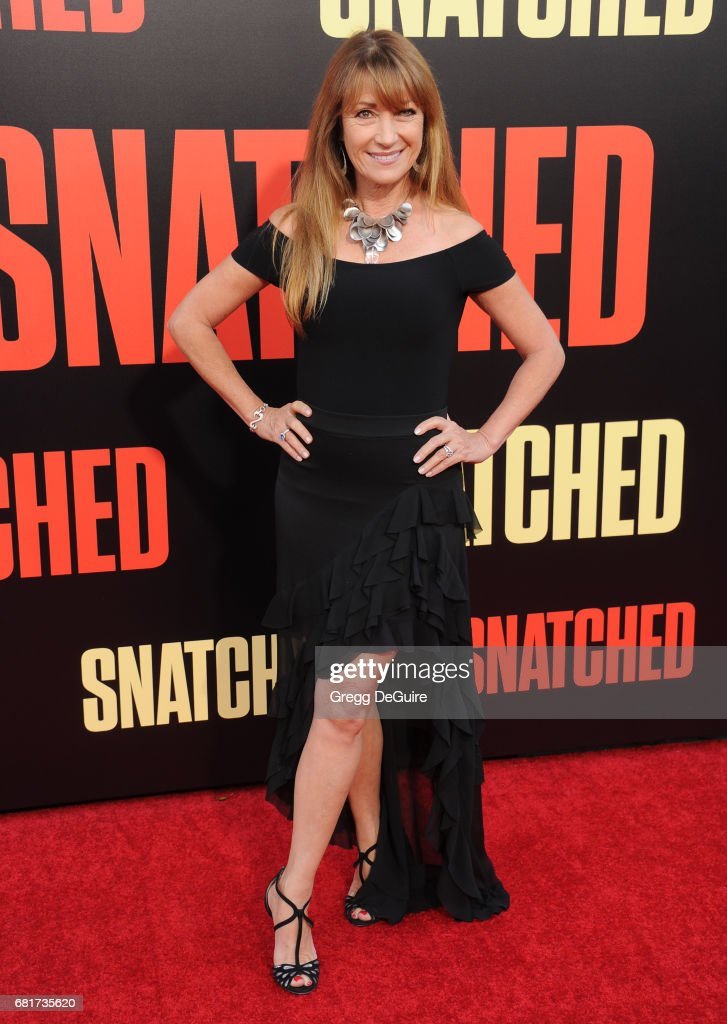Jane Seymour arrives at the premiere of 20th Century Fox's 'Snatched' at Regency Village Theatre on May 10, 2017 in Westwood, California.