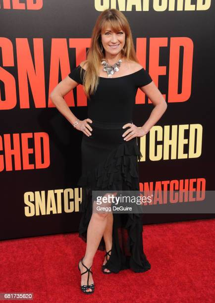 Jane Seymour arrives at the premiere of 20th Century Fox's 'Snatched' at Regency Village Theatre on May 10 2017 in Westwood California
