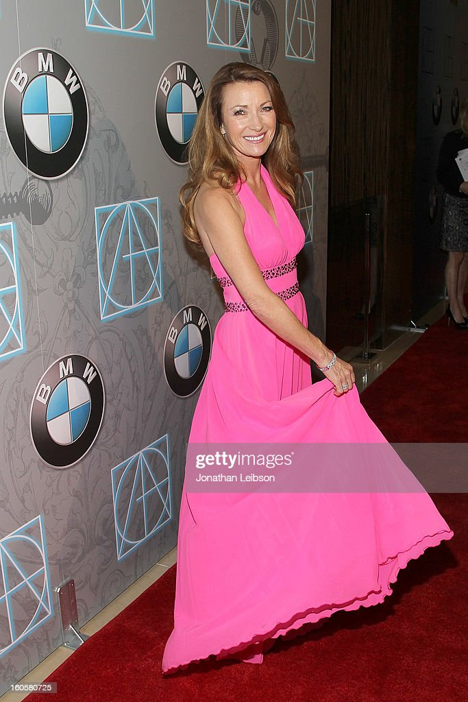 Jane Seymour arrives to the 17th Annual Art Directors Guild Awards For Excellence In Production Design presented by BMW at The Beverly Hilton Hotel on February 2, 2013 in Beverly Hills, California.