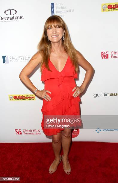 Jane Seymour at the 17th Annual Harold Carole Pump Foundation Gala at The Beverly Hilton Hotel on August 11 2017 in Beverly Hills California