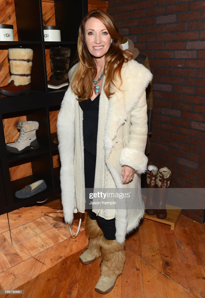 Jane Seymour attends Day 2 of UGG at Village At The Lift 2013 on January 19, 2013 in Park City, Utah.
