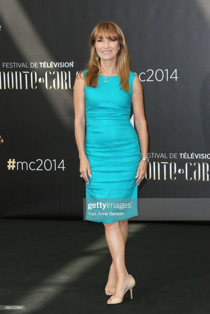 Jane Seymour attends photocall at the Grimaldi Forum on June 11, 2014 in Monte-Carlo, Monaco.