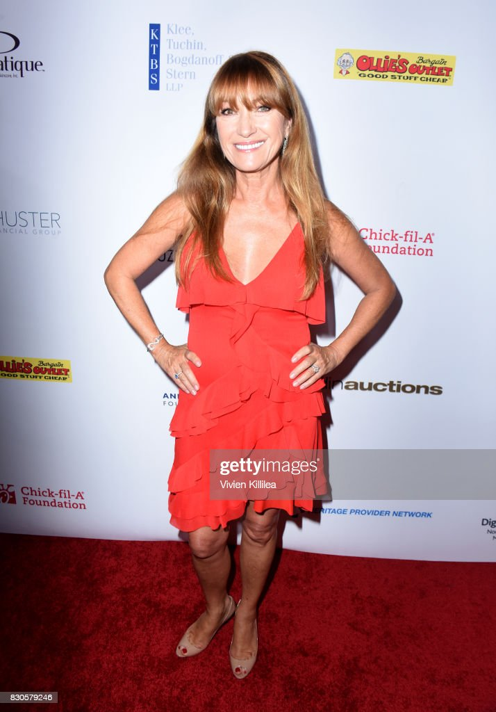 Jane Seymour attends the 17th Annual Harold & Carole Pump Foundation Gala at The Beverly Hilton Hotel on August 11, 2017 in Beverly Hills, California.