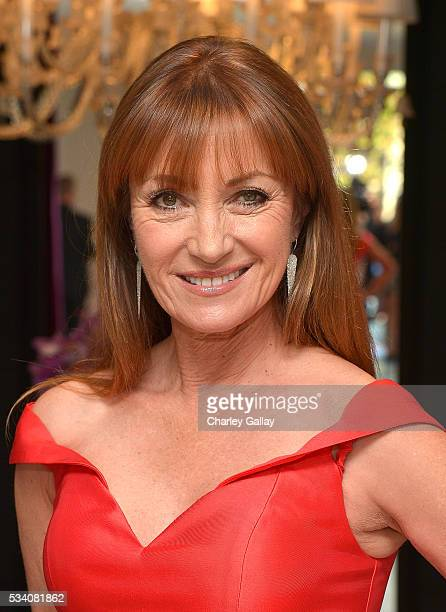 Jane Seymour attends the Jovani LA Flagship Opening on May 24 2016 in Beverly Hills California