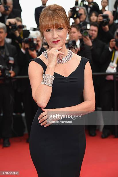 Jane Seymour attends the 'Mad Max Fury Road' Premiere during the 68th annual Cannes Film Festival on May 14 2015 in Cannes France