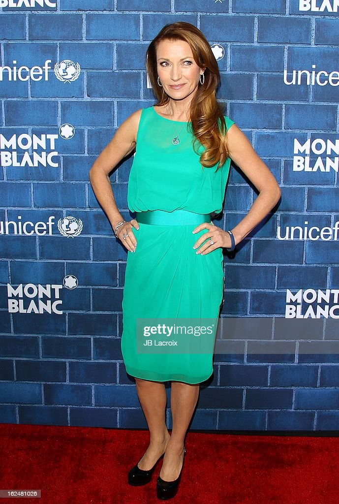 Jane Seymour attends the Montblanc and UNICEF pre-Oscar brunch celebrating their limited edition collection at Hotel Bel-Air on February 23, 2013 in Los Angeles, California.
