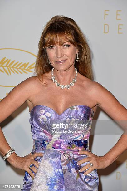 Jane Seymour attends the Opening Ceremony dinner during the 68th annual Cannes Film Festival on May 13 2015 in Cannes France