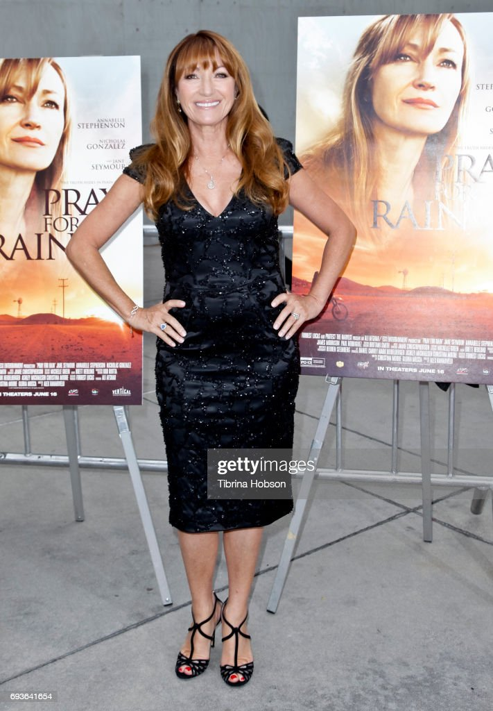 Jane Seymour attends the premiere of 'Pray For Rain' at ArcLight Hollywood on June 7, 2017 in Hollywood, California.