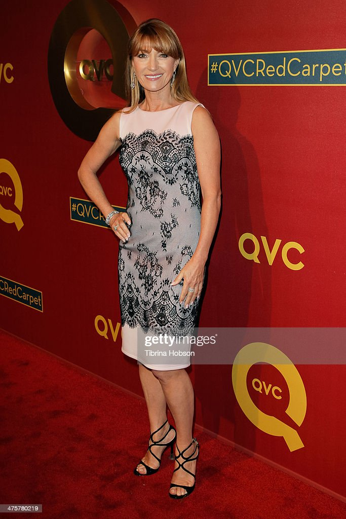 Jane Seymour attends the QVC 5th annual red carpet style event at The Four Seasons Hotel on February 28, 2014 in Beverly Hills, California.