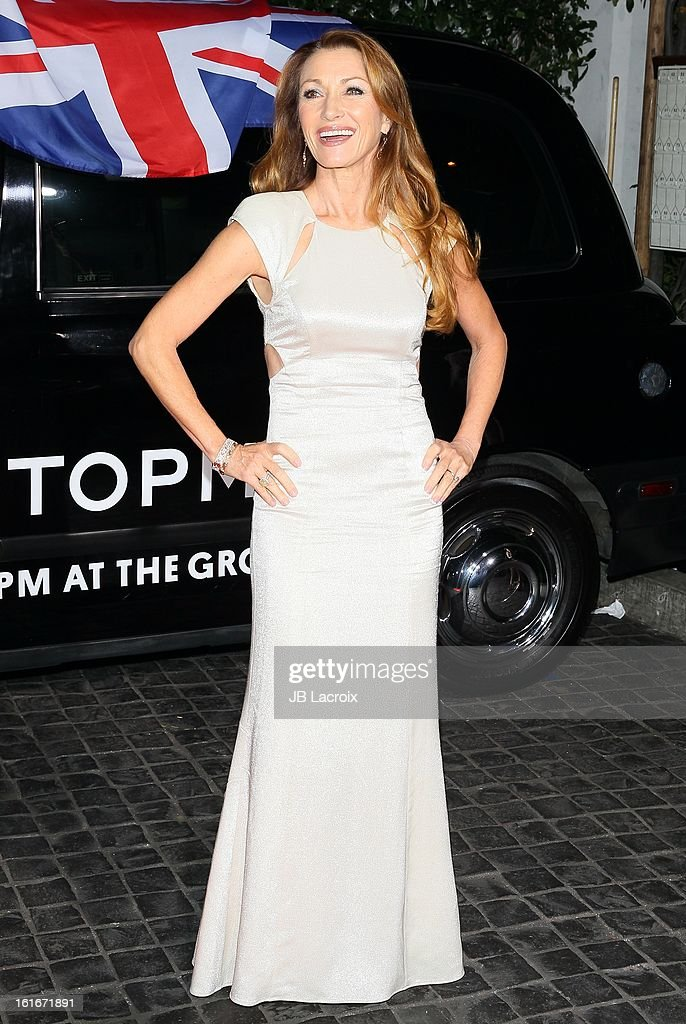 Jane Seymour attends the Topshop Topman LA Opening Party held at Cecconi's Restaurant on February 13, 2013 in Los Angeles, California.
