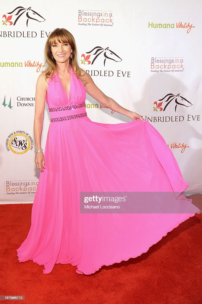 Jane Seymour attends the Unbridled Eve Gala for the 139th Kentucky Derby at The Galt House Hotel & Suites' Grand Ballroom on May 3, 2013 in Louisville, Kentucky.