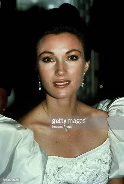 Jane Seymour circa 1988 in New York City
