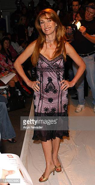 Jane Seymour during MercedesBenz Fall 2005 LA Fashion Week at Smashbox Studios Meghan Front Row at Smashbox Studios in Culver City California United...