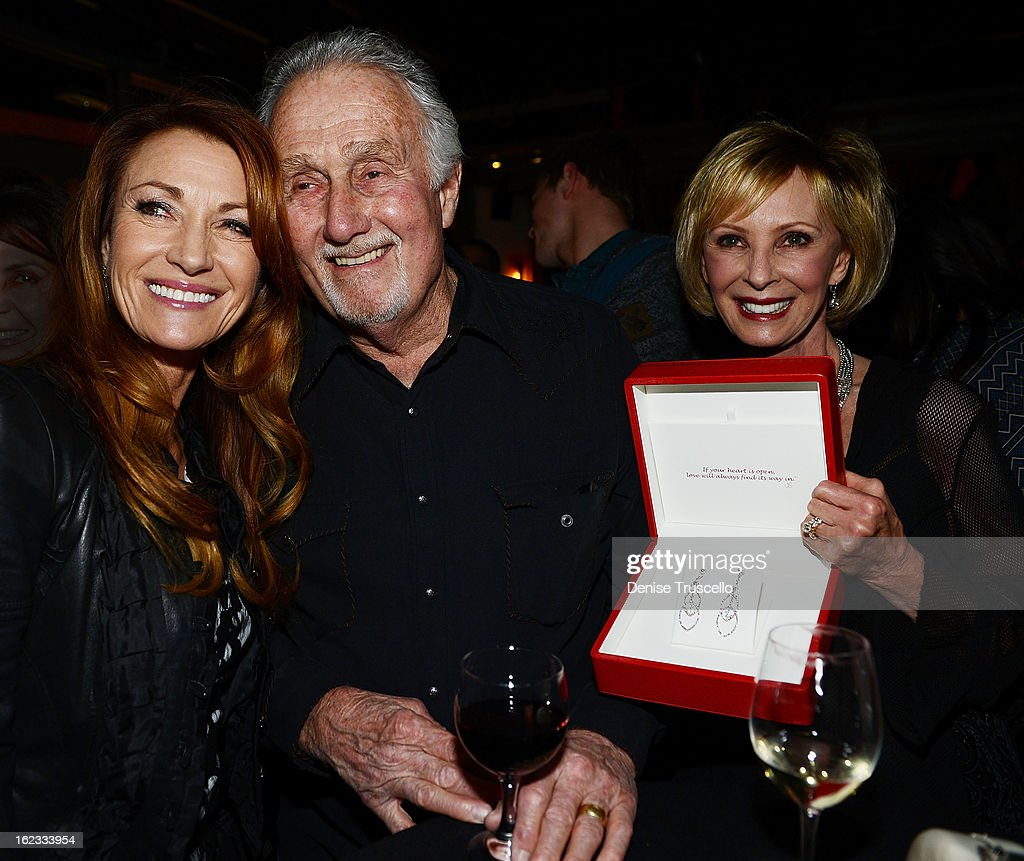 Jane Seymour (L) during the Have A Heart benefit for organ donor recipients and their families at Mixology LA at the Farmers Market on February 21, 2013 in Los Angeles, California.